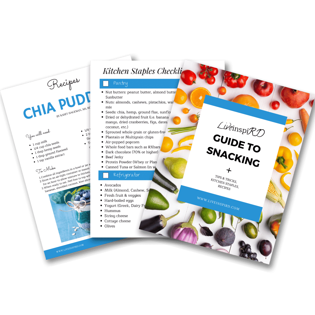 A picture of LiveinspiRD's Guide to Snacking PDF